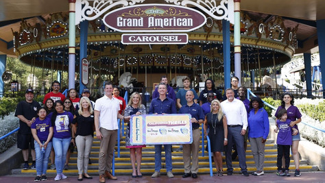Six Flags Makes 50,000 Ticket Donation for Vaccination Efforts in the State of California.