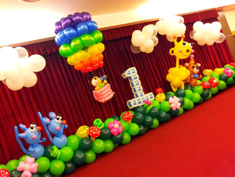 Throw a party for your birthday or for any occasions you want