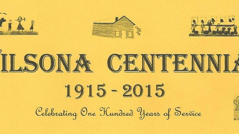 To commemorate 100 years of service to the students of the Wilsona School District,