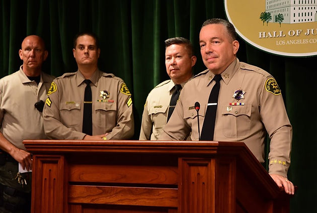 LASD Sheriff Villanueva Reacts to Recent Mass Shootings