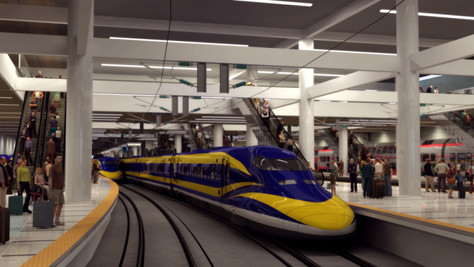 Public Invited to Preview Palmdale High Speed Rail Station Area Plan