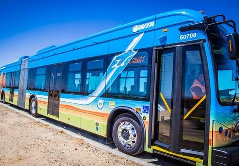 AVTA Begins Bus Service for AV Residents Getting Vaccines