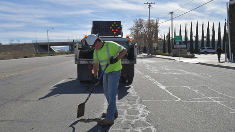 City of Lancaster to Conduct Comprehensive Pothole Repair Effort Next Week