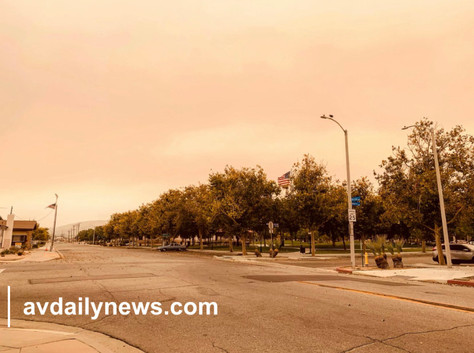 Air Quality Advisory For The Antelope Valley