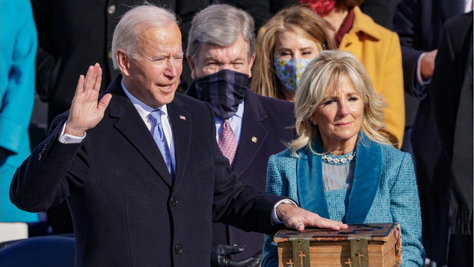Joseph R. Biden Jr. was sworn in on Wednesday as the 46th president of the United States.