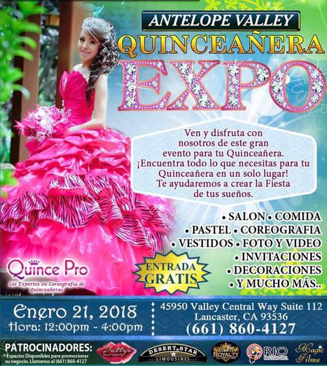Antelope Valley Quinceañera Expo 2018