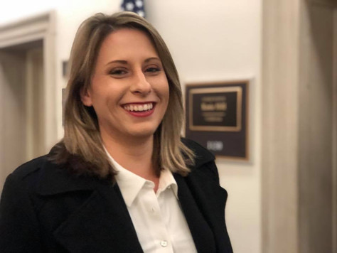 Representative Katie Hill Sworn into Office, to represent the 25th congressional district. Antelope