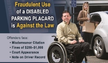 DMV Cites Nearly 2,000 People Misusing Disabled Parking Placards in One Year