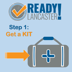 The City of Lancaster Encourages Residents to Prepare for the Event of an Emergency – Step One: Get