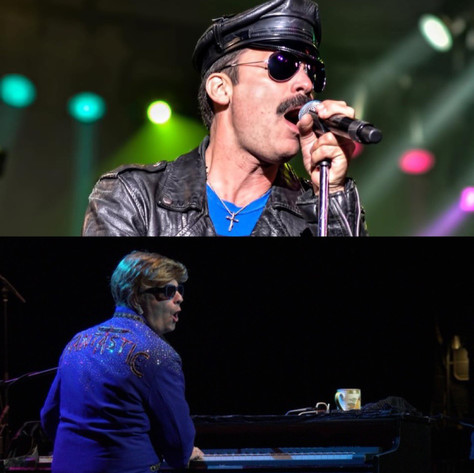 Majestic Rock Reigns Supreme at Palmdale Amphitheater: Queen Nation and Joey Riedel's Elton John Exp