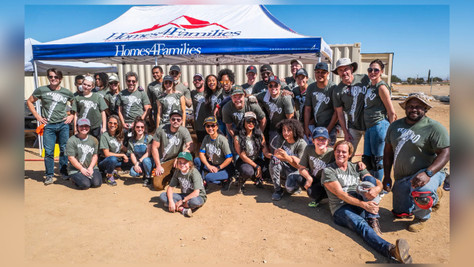 Celebs Build Homes for Veterans with Homes 4 Families
