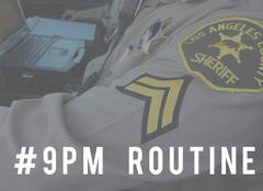 Join Lancaster Station & amp; City of Lancaster in the #9PM Routine, lock your cars, valuables a