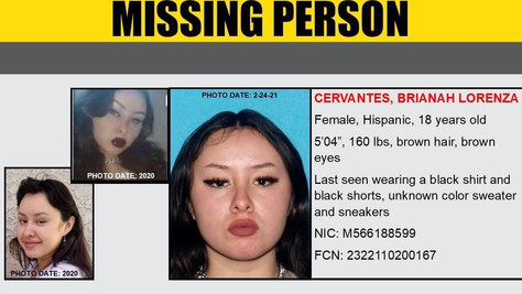 Help Locate Missing Person