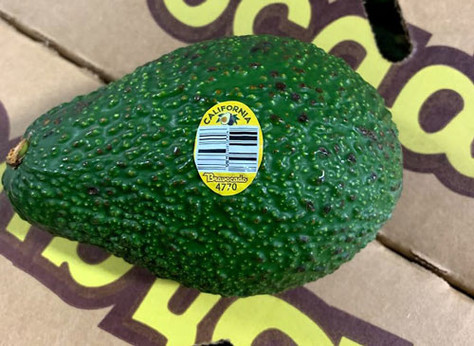 Henry Avocado Recalls Whole Avocados Because Of Possible Health Risk