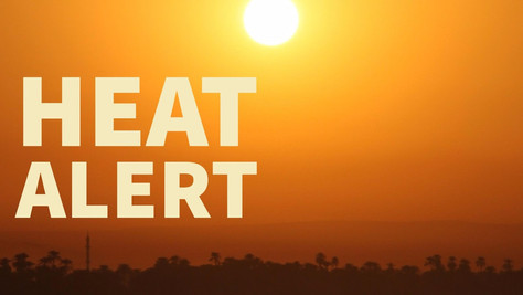 Extreme Heat Warning Forecast For The Antelope Valley.