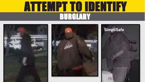 Help Identify Burglary Suspect