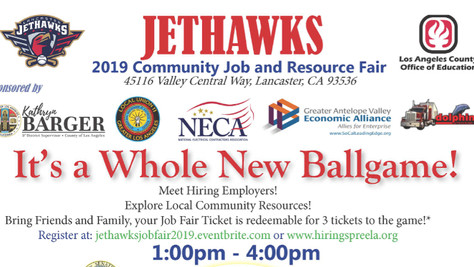 Get Ready For A Job And Community Resource Fair, Sunday June 23rd, 2019.