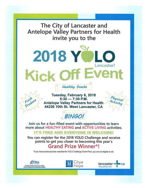 2018 YOLO Lancaster Kick-Off Event