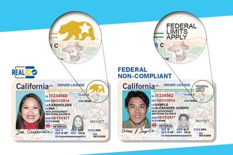"""Are Californians ready?""""REAL ID""""Enforcement begins in 18 months at all U.S. airport checkpoints"""