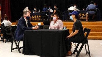 Newsom announced that over $1 billion in rental assistance has been requested