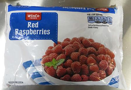 Winco FoodsRecalls Frozen Red Raspberries Because of Possible Health Risk