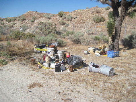 City of Palmdale Partners with Waste Management to Combat Illegal Dumping