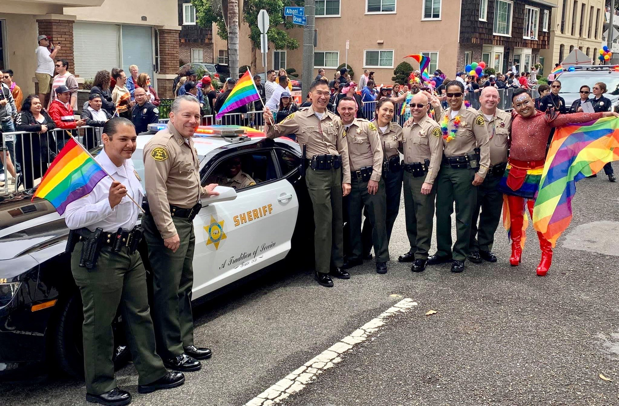 Los Angeles County Sheriff's Department is proudly