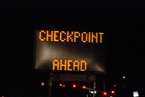 DUI checkpoint in Palmdale this Saturday March 26th, 2016
