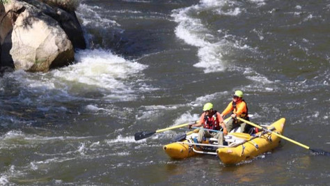 A report of a woman missing in the Kern River.