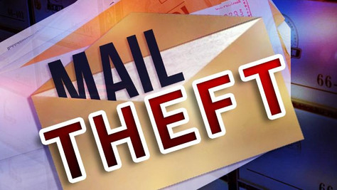 Officers searching for possible mail theft suspect in California City.