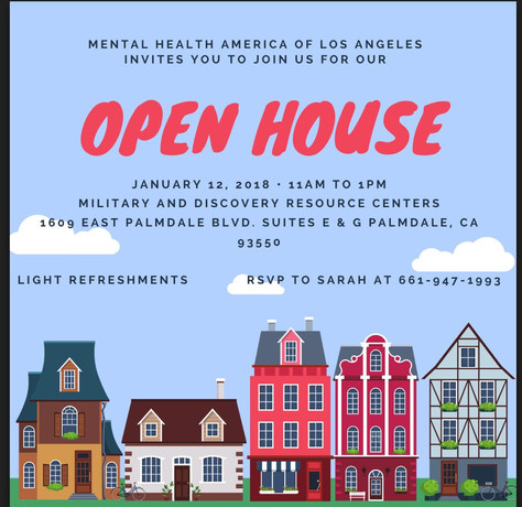 MHA Military & Discovery Resource Centers Will Have An Open House this Friday.