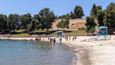 Castaic Lake Swim Beach opens this Thursday