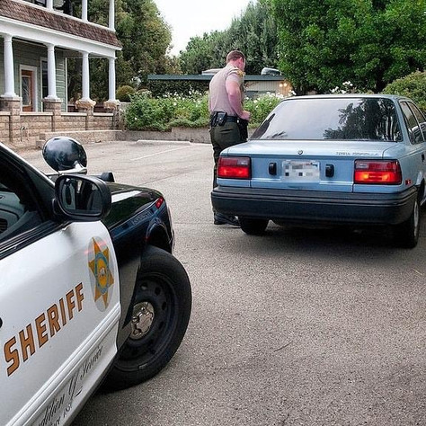 What to do if stopped by a Deputy Sheriff, Tuesday Safety Tips.