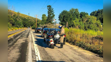 The CHP received a $1.5 million grant for the Regulate Aggressive Driving and Reduce Speed