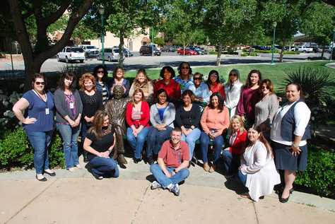 """City of Palmdale Employees Show Support for  """"Denim Day"""""""