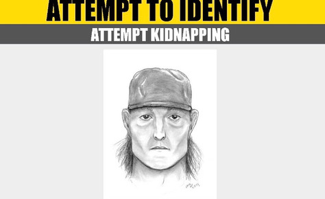 Help Lancaster detectives identify a suspect for an attempt  kidnapping.