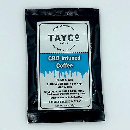 CBD Infused Coffee Single Serve (4