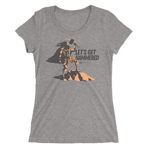 GET HAMMERED Ladies' t-shirt