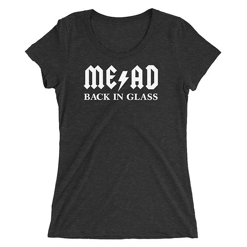 BACK IN GLASS Ladies' t-shirt