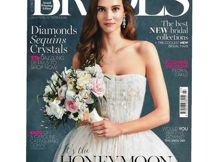BRIDES MAGAZINE FEATURE!!