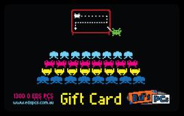 Gift Cards - Retro Games Design