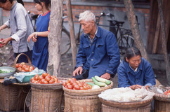 Road to Leshan - Market - Vegetables.jpg