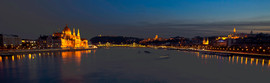 Budapest from Margit Hid
