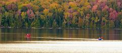 Kayaks in Autumn