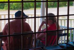 Johnnie & Robert on the Porch