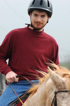 Robert Enjoys Success on Horseback