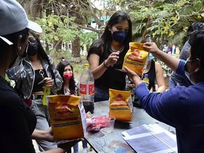 Festejos de la Universidad Mayor de San Simón por el día del estudiante.