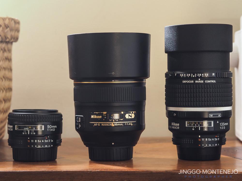Nikon Portrait Lenses by Jinggo Montenejo