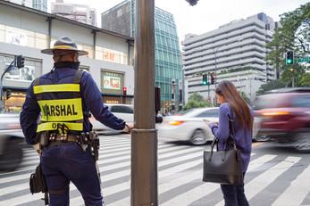 Traffic Marshals, Makati City Philippines