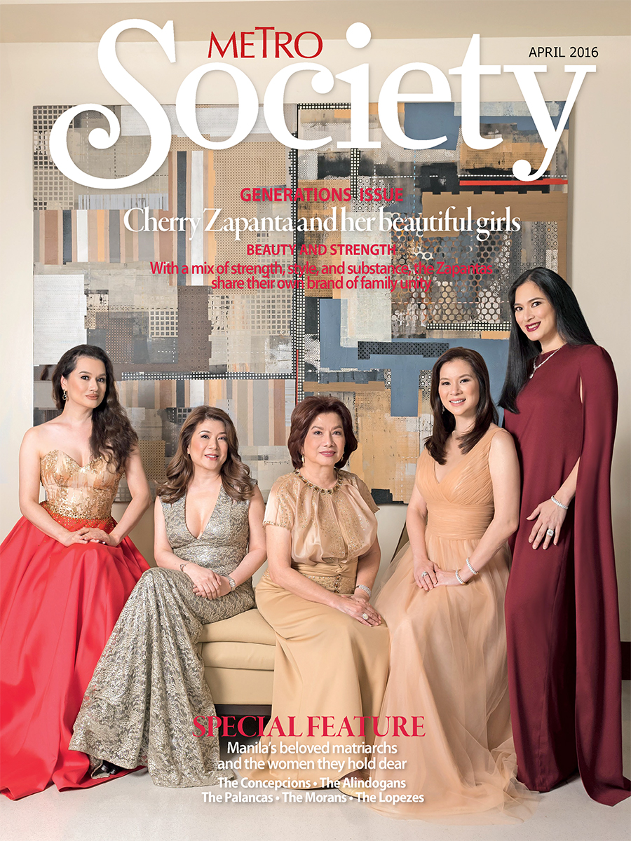 Metro Society April 2016 Cover